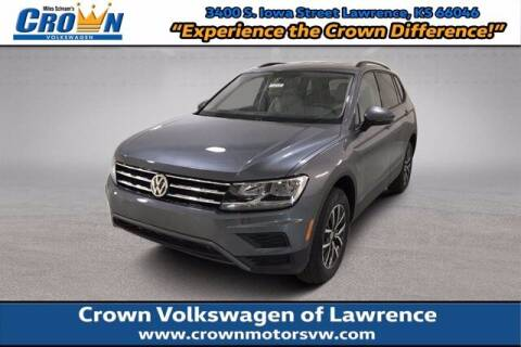 2021 Volkswagen Tiguan for sale at Crown Automotive of Lawrence Kansas in Lawrence KS