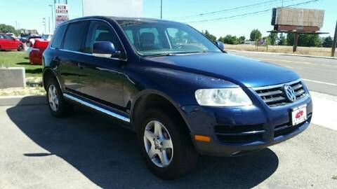 2004 Volkswagen Touareg for sale at HUM MOTORS in Caldwell ID