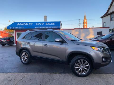 2011 Kia Sorento for sale at Gonzalez Auto Sales in Joliet IL