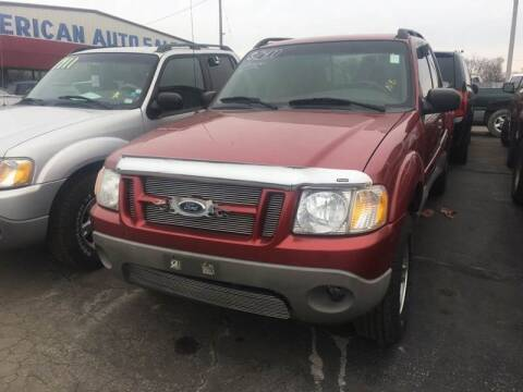 2001 Ford Explorer Sport Trac for sale at American Motors Inc. - Cahokia in Cahokia IL
