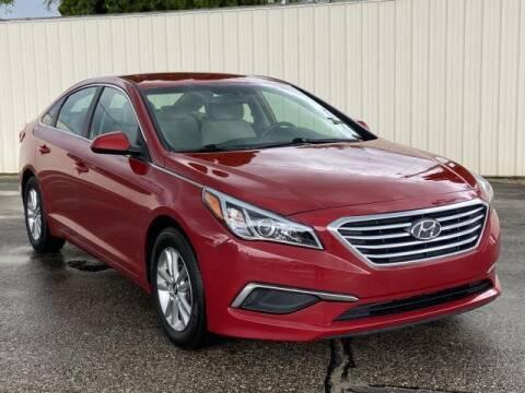 2017 Hyundai Sonata for sale at Miller Auto Sales in Saint Louis MI