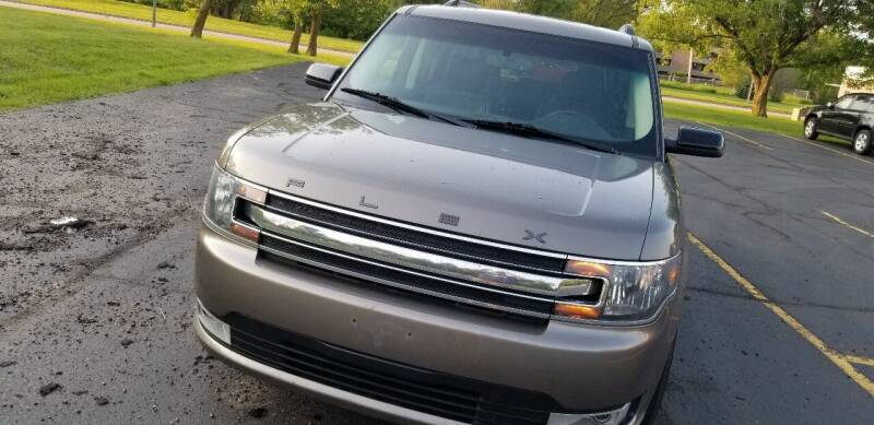 2014 Ford Flex for sale at SKYLINE AUTO CENTRE in Wisconsin Rapids WI