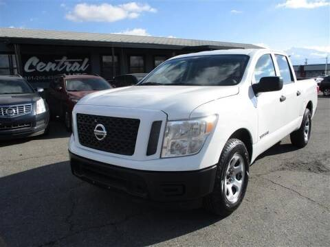 2017 Nissan Titan for sale at Central Auto in South Salt Lake UT