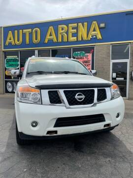 2014 Nissan Armada for sale at Auto Arena in Fairfield OH