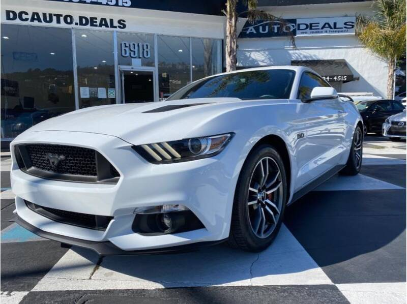 2017 Ford Mustang for sale at AutoDeals in Daly City CA