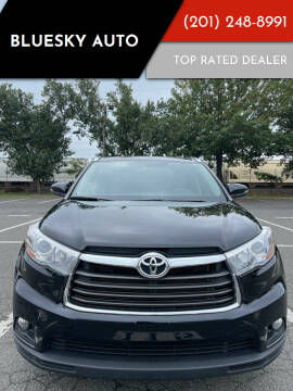 2015 Toyota Highlander for sale at Bluesky Auto in Bound Brook NJ