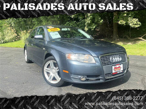 2006 Audi A4 for sale at PALISADES AUTO SALES in Nyack NY