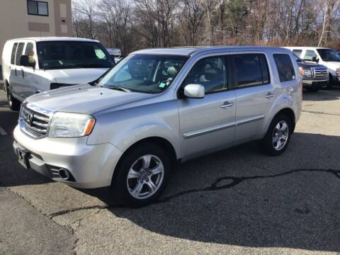 2012 Honda Pilot for sale at Desi's Used Cars in Peabody MA