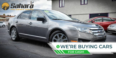2010 Ford Fusion for sale at Sahara Pre-Owned Center in Phoenix AZ
