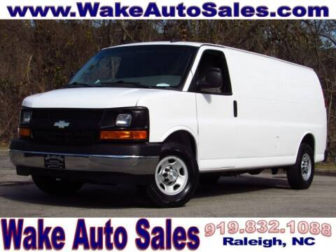 2017 Chevrolet Express Cargo for sale at Wake Auto Sales Inc in Raleigh NC