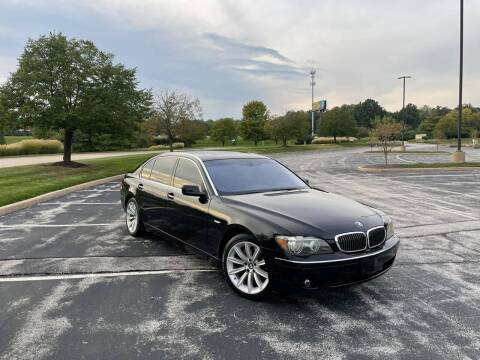 2008 BMW 7 Series for sale at Q and A Motors in Saint Louis MO