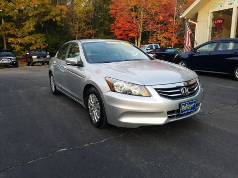 2012 Honda Accord for sale at Fairway Auto Sales in Rochester NH