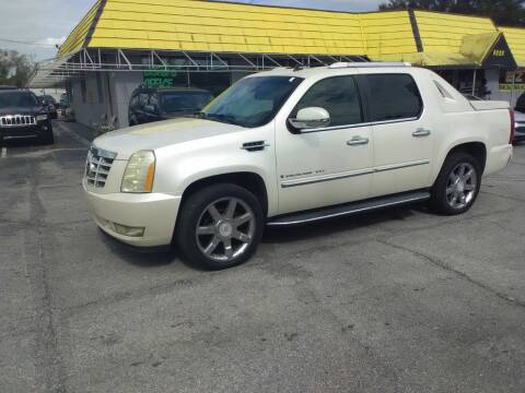 2007 Cadillac Escalade EXT for sale at Castle Used Cars in Jacksonville FL