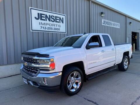 2016 Chevrolet Silverado 1500 for sale at Jensen's Dealerships in Sioux City IA