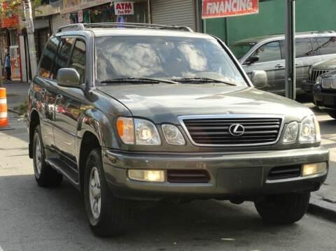 2000 Lexus LX 470 for sale at MOUNT EDEN MOTORS INC in Bronx NY