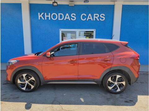2016 Hyundai Tucson for sale at Khodas Cars in Gilroy CA