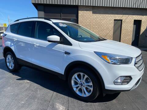 2018 Ford Escape for sale at C Pizzano Auto Sales in Wyoming PA