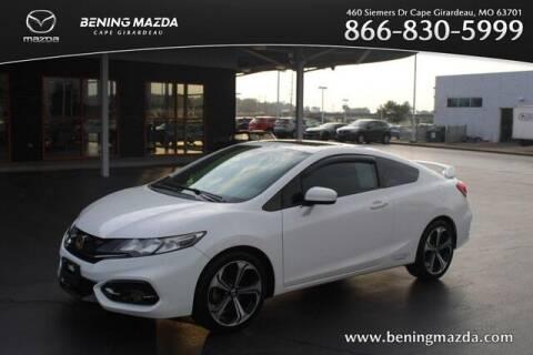 2015 Honda Civic for sale at Bening Mazda in Cape Girardeau MO