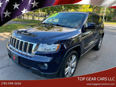 2012 Jeep Grand Cherokee for sale at Top Gear Cars LLC in Lynn MA