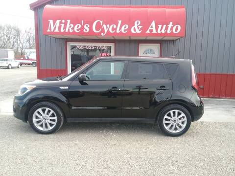 2018 Kia Soul for sale at MIKE'S CYCLE & AUTO in Connersville IN