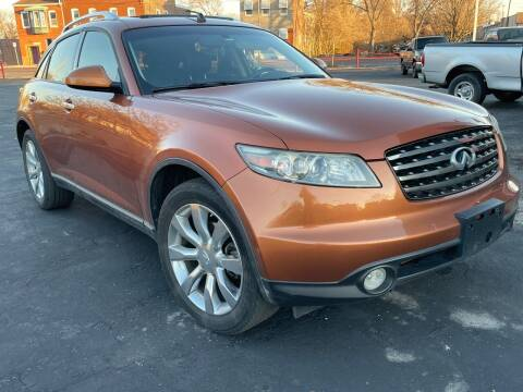 2005 Infiniti FX45 for sale at COLT MOTORS in Saint Louis MO