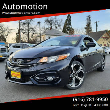 2015 Honda Civic for sale at Automotion in Roseville CA