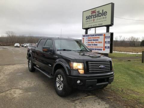 2012 Ford F-150 for sale at Sensible Sales & Leasing in Fredonia NY