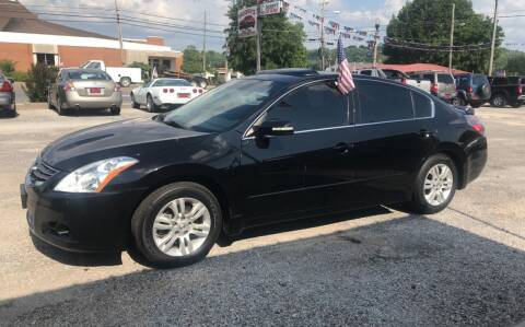 2012 Nissan Altima for sale at VAUGHN'S USED CARS in Guin AL