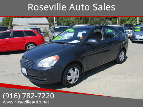 2009 Hyundai Accent for sale at Roseville Auto Sales in Roseville CA