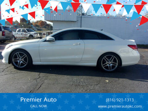 2016 Mercedes-Benz E-Class for sale at Premier Auto in Independence MO