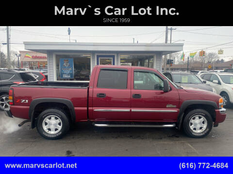 2006 GMC Sierra 1500 for sale at Marv`s Car Lot Inc. in Zeeland MI