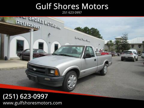 1997 Chevrolet S-10 for sale at Gulf Shores Motors in Gulf Shores AL