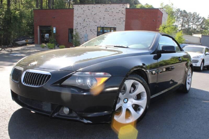 2004 BMW 6 Series for sale at Atlanta Unique Auto Sales in Norcross GA