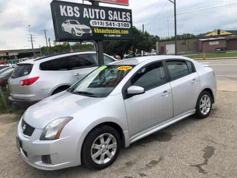 2010 Nissan Sentra for sale at KBS Auto Sales in Cincinnati OH