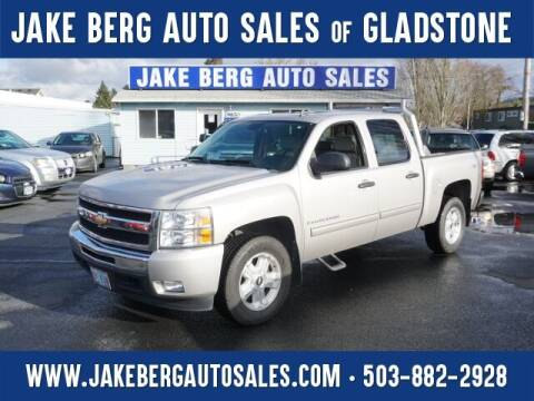 2009 Chevrolet Silverado 1500 for sale at Jake Berg Auto Sales in Gladstone OR