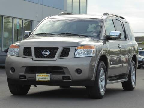 2009 Nissan Armada for sale at Loudoun Used Cars - LOUDOUN MOTOR CARS in Chantilly VA