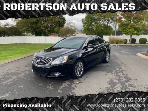 2012 Buick Verano for sale at ROBERTSON AUTO SALES in Bowling Green KY