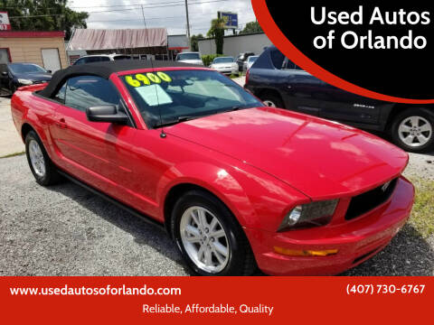 2007 Ford Mustang for sale at Used Autos of Orlando in Orlando FL