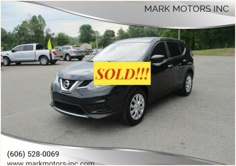 2016 Nissan Rogue for sale at Mark Motors Inc in Gray KY