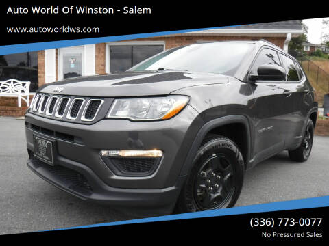 2018 Jeep Compass for sale at Auto World Of Winston - Salem in Winston Salem NC