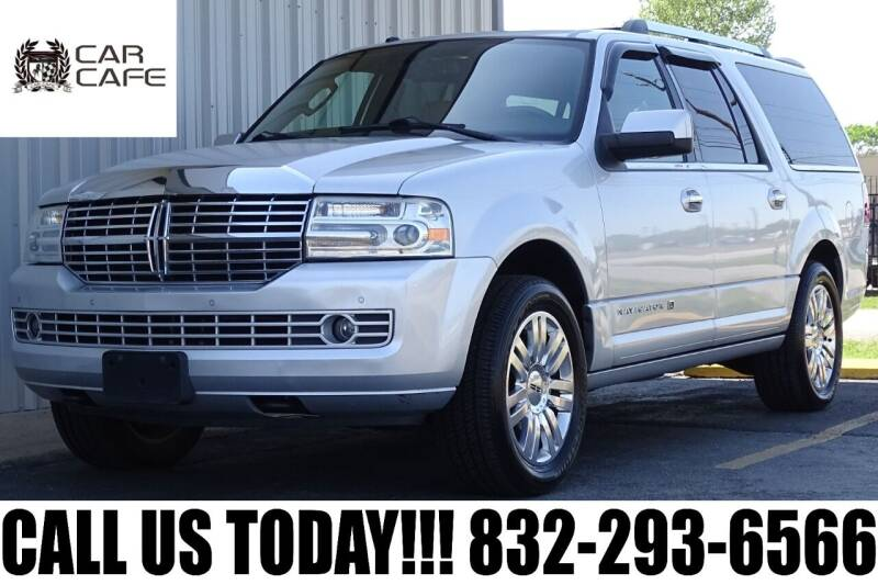 2011 Lincoln Navigator L for sale at CAR CAFE LLC in Houston TX