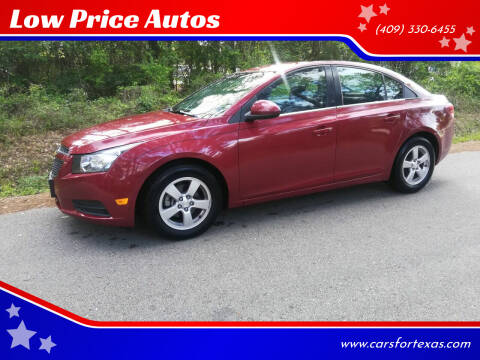 2014 Chevrolet Cruze for sale at Low Price Autos in Beaumont TX