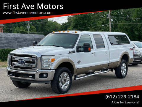2014 Ford F-350 Super Duty for sale at First Ave Motors in Shakopee MN