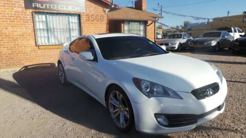 2010 Hyundai Genesis Coupe for sale at Auto Click in Tucson AZ