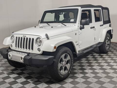 2018 Jeep Wrangler JK Unlimited for sale at CU Carfinders in Norcross GA