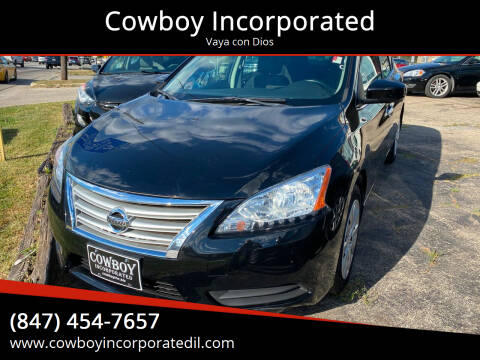 2015 Nissan Sentra for sale at Cowboy Incorporated in Waukegan IL