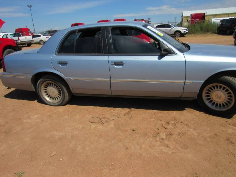 2000 Mercury Grand Marquis for sale at West Texas Consignment in Lubbock TX