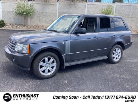 2006 Land Rover Range Rover for sale at Enthusiast Autohaus in Sheridan IN