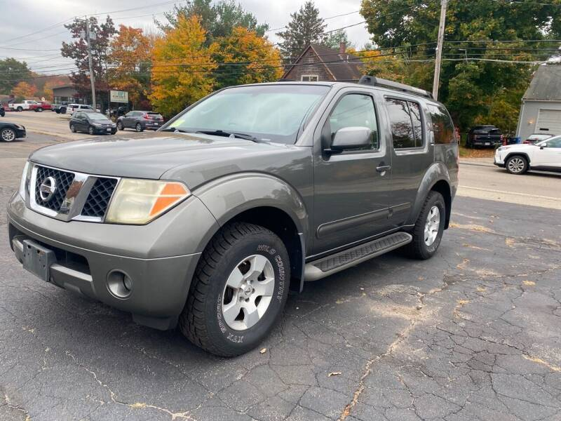 2006 Nissan Pathfinder for sale at Irving Auto Sales in Whitman MA