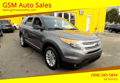 2012 Ford Explorer for sale at GSM Auto Sales in Linden NJ
